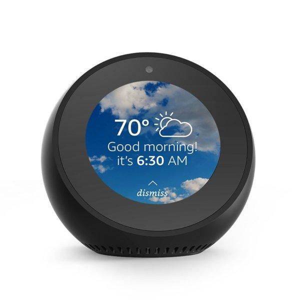Amazon Echo Spot -черен цвят